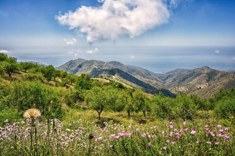 Vandring Andalusien- andakusia bergen